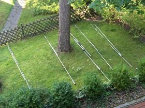 FB-53 sortiert im Garten ohne Boom